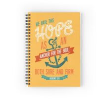 HEBREWS 6:19 Spiral Notebook