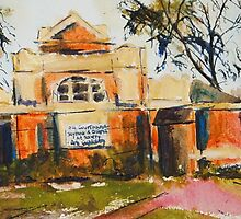 The Old Courthouse, Seymour (country Vic), Vic Australia by Margaret Morgan (Watkins)