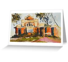 The Old Courthouse, Seymour (country Vic), Vic Australia Greeting Card