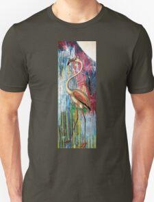 MOONLIGHT FLAMINGO Unisex T-Shirt