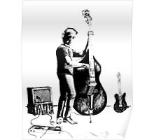 Upright Bass Poster