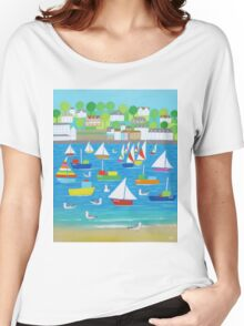 Salcombe Seagulls Women's Relaxed Fit T-Shirt
