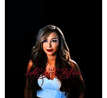 >>Like never before official gadget of Naya Rivera's fanpage Photographic Print