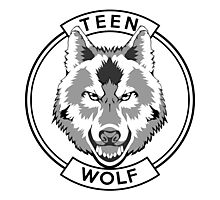 Teen Wolf (Black) Photographic Print