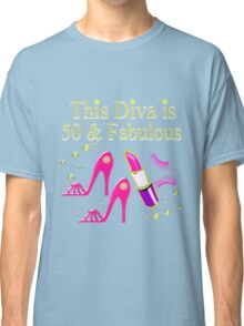 DAZZLING AND FABULOUS 50 YEAR OLD Classic T-Shirt