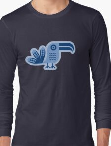 Blue toucan, Bird,  Long Sleeve T-Shirt