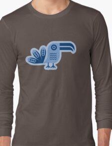 Blue toucan, Bird,  Long Sleeve T-Shirt