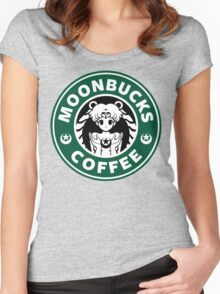 Moonbucks Coffee Women's Fitted Scoop T-Shirt