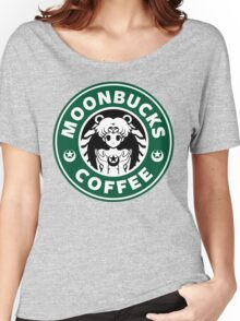 Moonbucks Coffee Women's Relaxed Fit T-Shirt