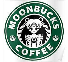 Moonbucks Coffee Poster