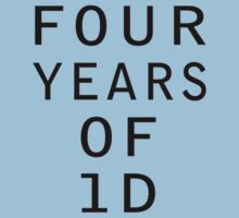4 Years Of 1D by LandoDesign