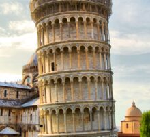 The Leaning Tower Of Pisa Sticker