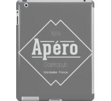 Apéro Gastropub (White) iPad Case/Skin