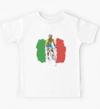 Maillot Jaune , Italy Flag Kids Tee