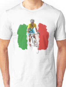 Maillot Jaune , Italy Flag Unisex T-Shirt