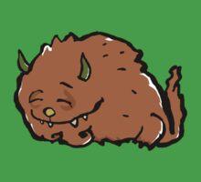 small sleeping monster by greendeer