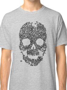 Panda Skull - Blue Classic T-Shirt