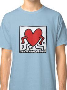 Keith Haring Running Heart Classic T-Shirt