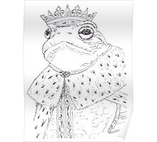 King Toad Poster