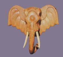 Thai Elephant tee Kids Tee