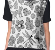 Forest party Chiffon Top