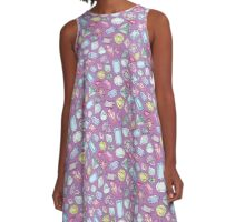 Gemstones A-Line Dress