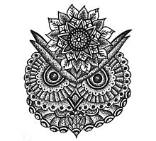 Owl Mandala  by tiffanih