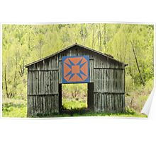 Kentucky Barn Quilt - Happy Hunting Ground Poster