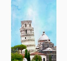 Watercolor painting of the Leaning tower in Pisa, Italy Unisex T-Shirt