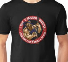 Hillbilly - I Have A Beautiful Daughter Red Variant Unisex T-Shirt