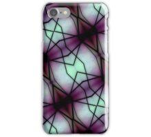 Futuristic Space Geometric Pattern iPhone Case/Skin