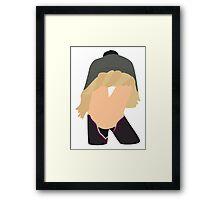 K is for Kristoff Framed Print