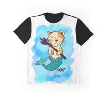 Merkitty (Mermaid kitty) Graphic T-Shirt