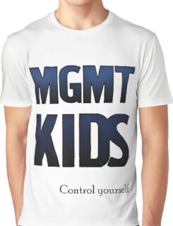 Control Yourself (MGMT ver.) Graphic T-Shirt