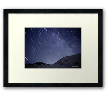 Startrails I Framed Print