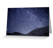 Startrails I Greeting Card