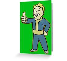 Vault Boy Greeting Card