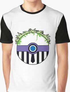 Beetlejuice Pokemon Ball Mash-up Graphic T-Shirt