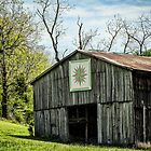 Kentucky Barn Quilt - Mariners Compass by mcstory
