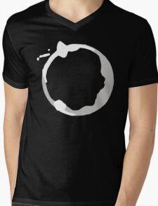 Coffee Stain Mens V-Neck T-Shirt