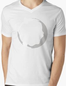 Coffee Stain Mens V-Neck T-Shirt