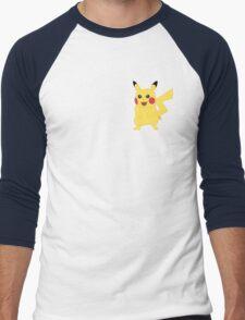 Pikachu - Pokemon Go Men's Baseball ¾ T-Shirt