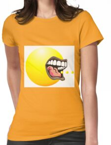 Pac Man Womens Fitted T-Shirt