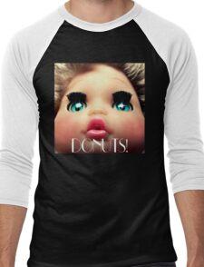 baby doll sees DONUTS! Men's Baseball ¾ T-Shirt