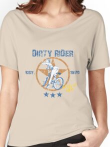 Dirty Rider Women's Relaxed Fit T-Shirt