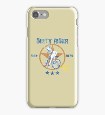 Dirty Rider iPhone Case/Skin