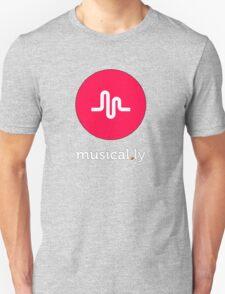 music logo tshirt, musical.ly Unisex T-Shirt