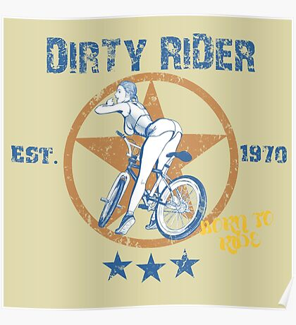 Dirty Rider Poster