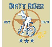 Dirty Rider Photographic Print