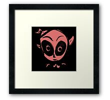 Ghost in pink Framed Print